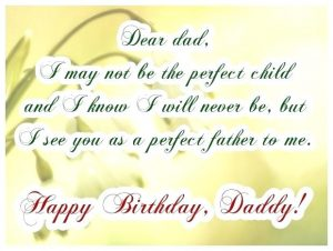 Happy Birthday Dad Cards Free