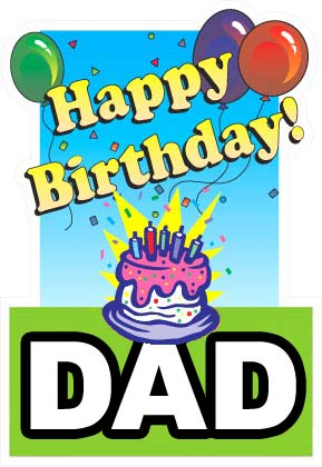 photo relating to Happy Birthday Dad Cards Printable called 56 Lovable Birthday Playing cards for Father