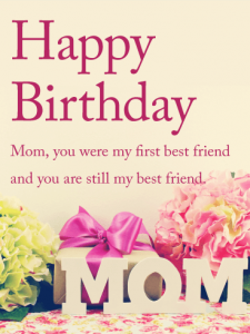 Happy Birthday Mom Cards