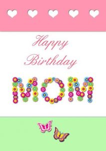 Happy Birthday Mom Cards from Son