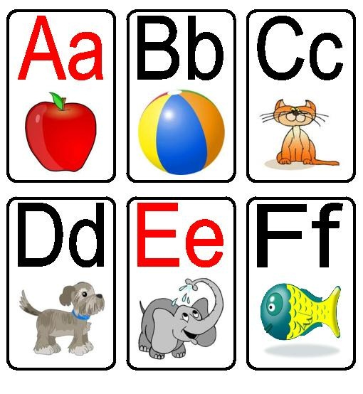 photograph about Abc Flash Cards Free Printable identify 60 Alphabet Flash Playing cards in direction of Print for Manufacturing Studying Exciting