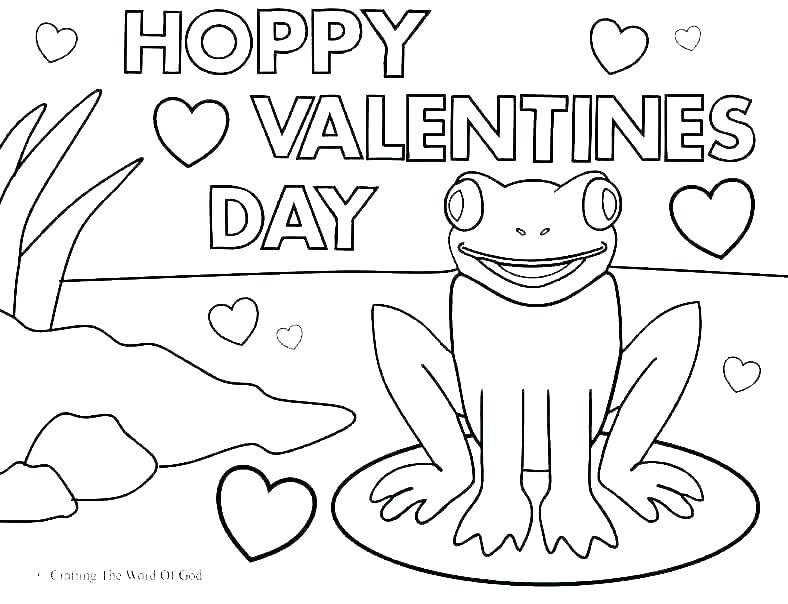 11 Cute Printable Valentine\'s Day Cards to Color ...