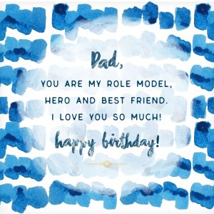 Printable Nice Birthday Cards for Dad Free