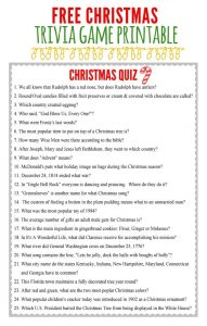 Random Catholic Christmas Trivia