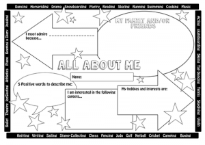 4th Grade All About Me Worksheets
