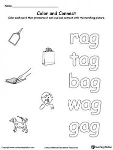 Ag Phonics Worksheets
