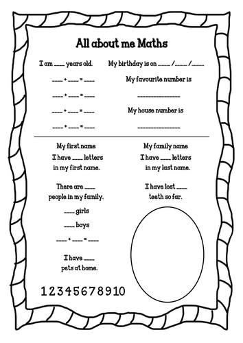 33 Pedagogic All About Me Worksheets Kittybabylove Com