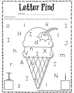 Alphabet Worksheets for Kids Letter Recognition