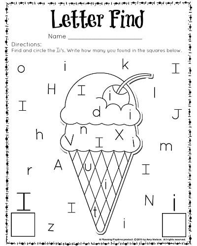 17 letter recognition worksheets for kids. Black Bedroom Furniture Sets. Home Design Ideas