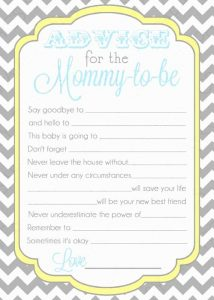 Baby Shower Mad Libs Ideas Free Download