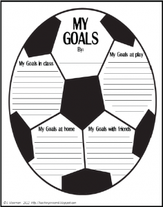 Basketball Goal Setting Worksheet