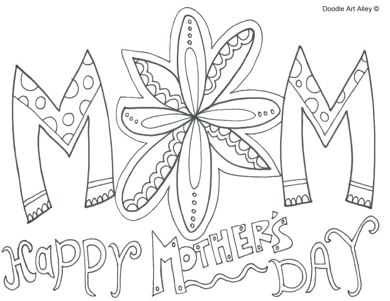 30 Free And Printable Mother S Day Coloring Cards Kittybabylove Com