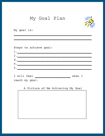 Intrepid image pertaining to free printable goal sheets