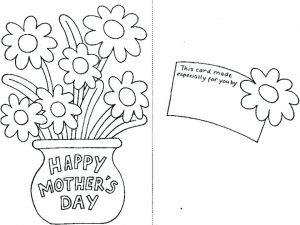 Free Printable Mother's Day Cards to Color for Grandma