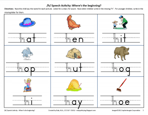 Ks2 Letter H Phonics Worksheets