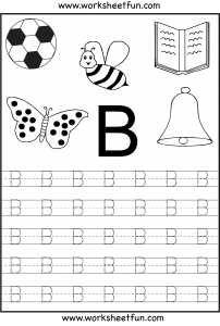 Letter B Free Printable Worksheets