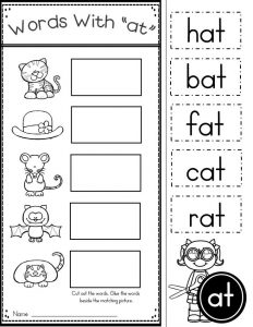 Phonics Worksheets for 3 Year Olds