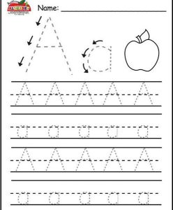 Printable Letter A Worksheets