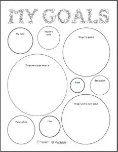 Smart Simple Goal Setting Worksheet for Teachers