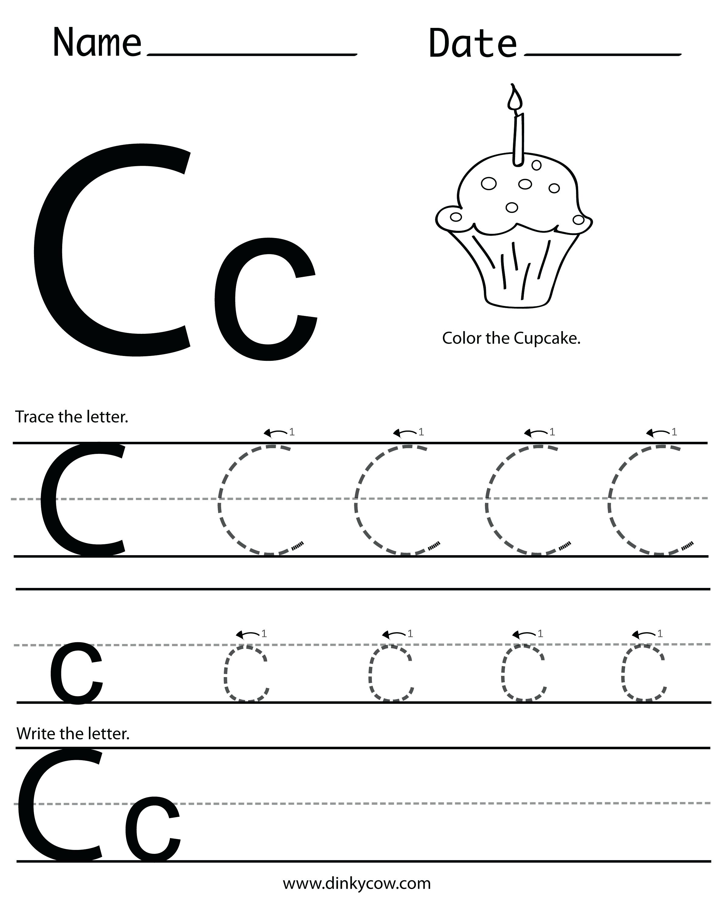 28 letter c worksheets for young learners. Black Bedroom Furniture Sets. Home Design Ideas