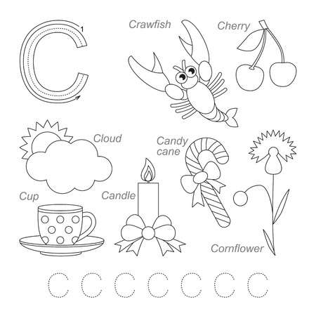 28 Letter C Worksheets For Young Learners Kittybabylove Com