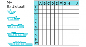 Free Printable Battleship Game
