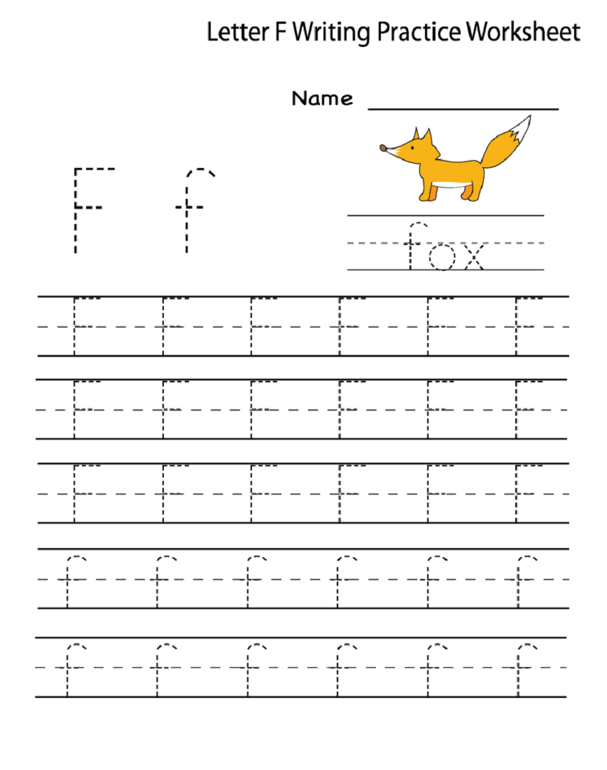 15 Useful Letter F Worksheets for Toddlers   KittyBabyLove.com