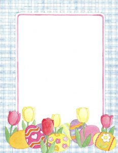 Easter Bunny Letter Templates to Print