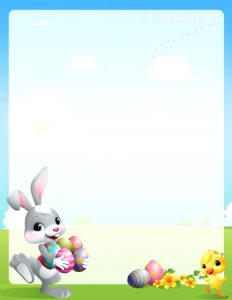 Easter Bunny Letter to Kids