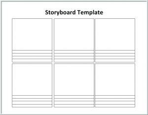 Free Download Film Storyboard Template