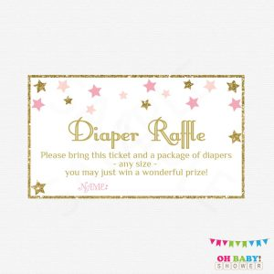 Free Printable Baby Diaper Raffle Tickets