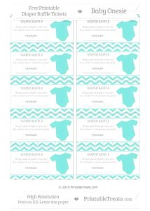 Free Printable Diaper Raffle Ticket Template