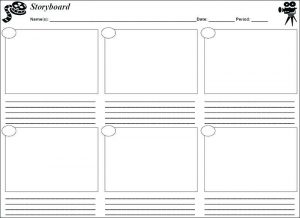 Free Storyboard Template