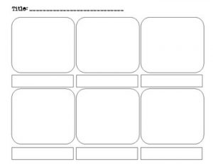 Interactive Free Printable Storyboard Template