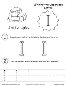 Letter I Activity Worksheets