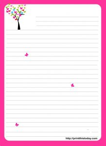 Pretty Paper to Write Letters On