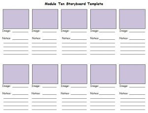 Professional Storyboard Template