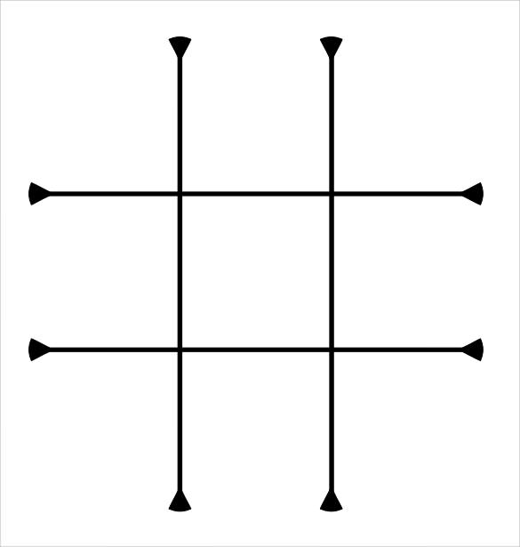 photo relating to Tic Tac Toe Printable referred to as 15 Remarkable Tic Tac Toe Printables