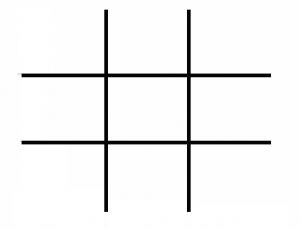Tic Tac Toe Template Printable