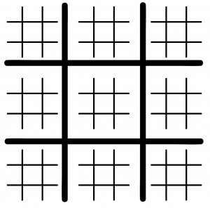 Ultimate Tic Tac Toe Printable