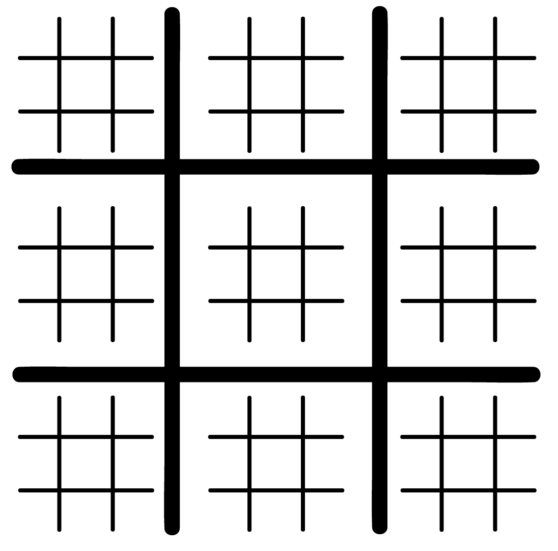 Enterprising image regarding printable tic tac toe