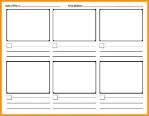 Video Game Storyboard Template Download