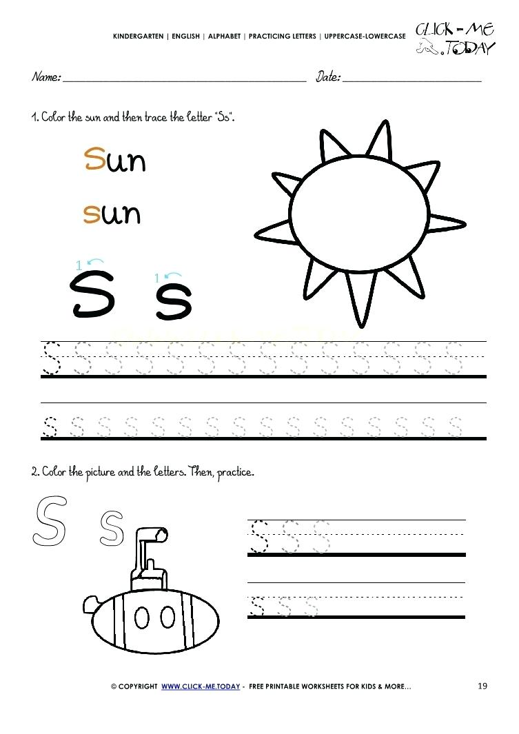 It is a photo of Crafty Free Preschool Printable Worksheets