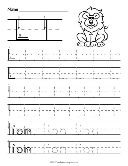 graphic regarding Printable Letter L referred to as 18 Pleasurable letter L Worksheets for Youngsters