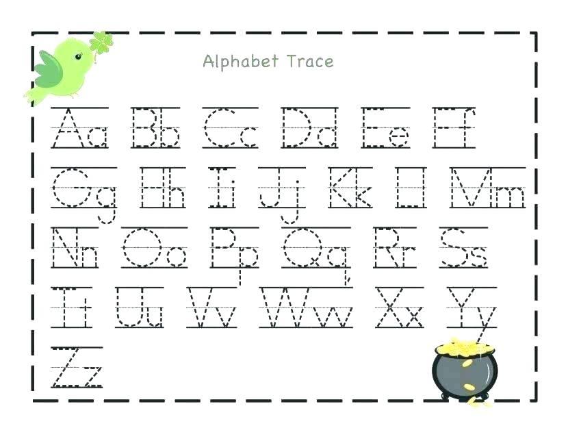 42 Educative Letter Tracing Worksheets KittyBabyLove.com