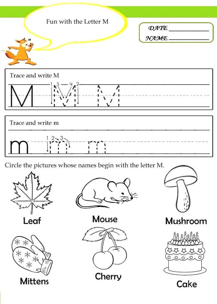 20 instructive letter m worksheets for toddlers. Black Bedroom Furniture Sets. Home Design Ideas