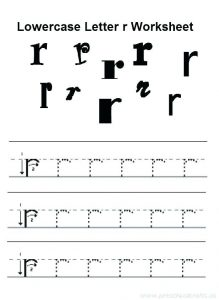 Letter R Printable Worksheets