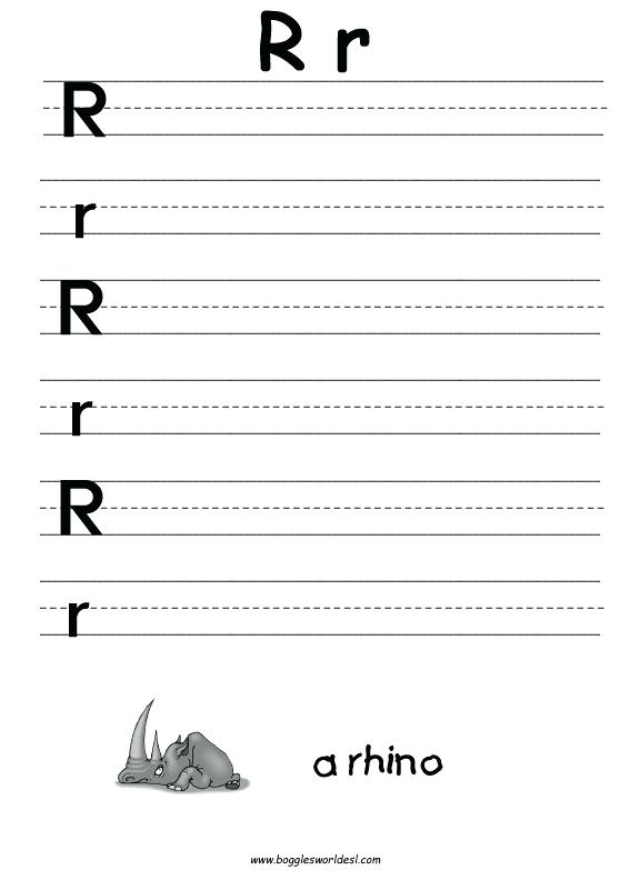 15 Letter R Worksheets Making Learning Fun | KittyBabyLove.com