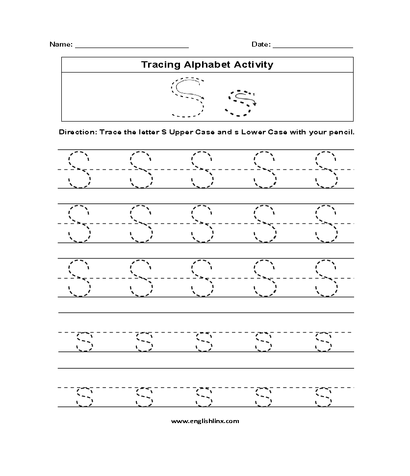 19 Cool Letter S Worksheets | KittyBabyLove.com