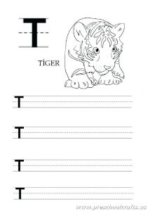 Letter T Worksheets Free Printables